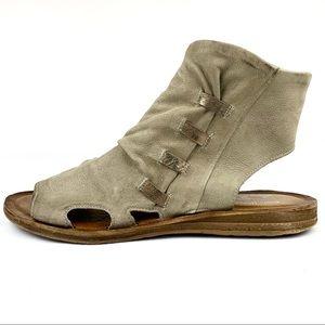 Miz Mooz | 'Fizzy' Peep Toe Boho Ankle Sandals